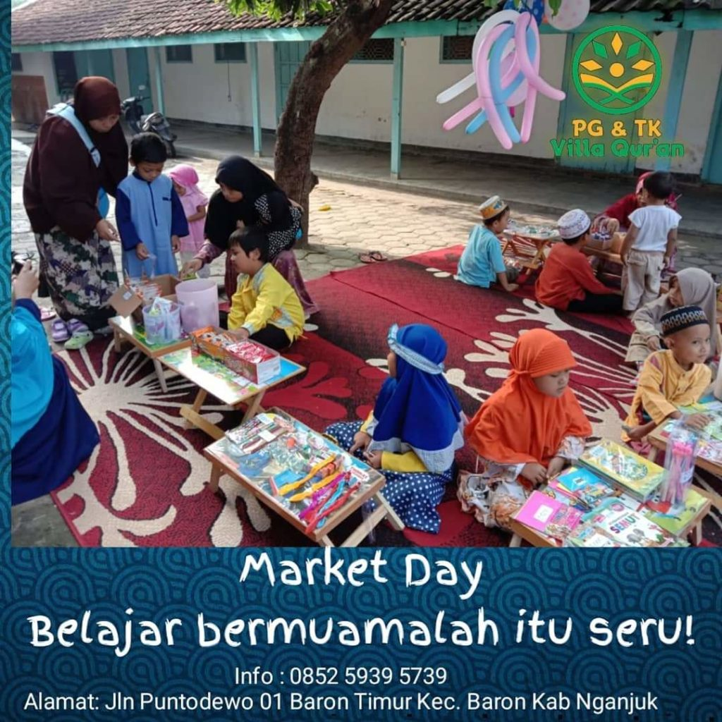 Market Day PG dan TK Villa Qur'an