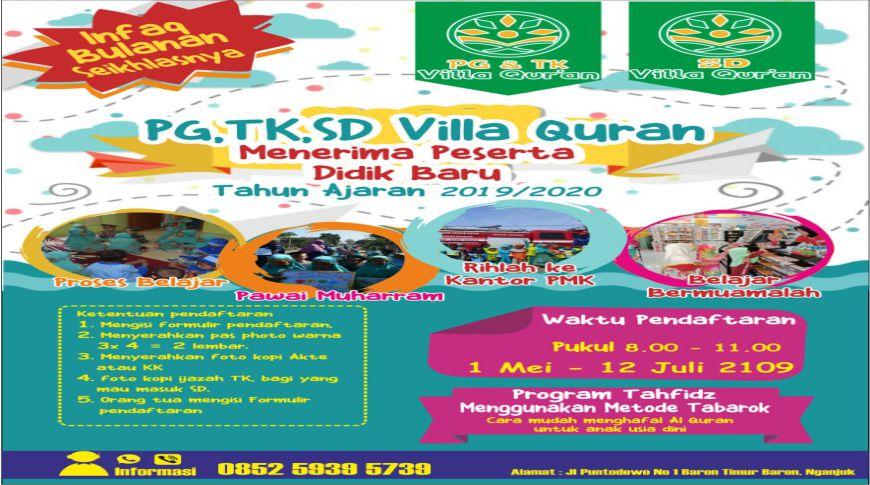 PG,TK, SD Villa Quran