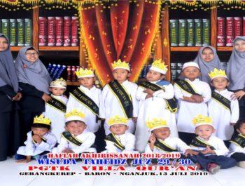 Siswa Putra PG,TK Villa Quran
