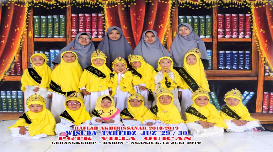 Siswa Putri PG,TK Villa Quran