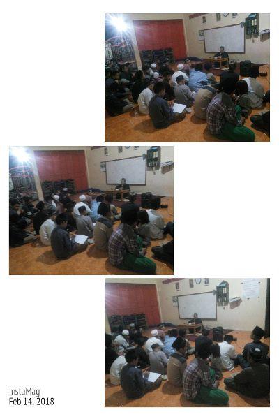 Kajian Malam Kamis Santri Villa Qur'an oleh Kyai Abdul Karim. W (14-02-2018)