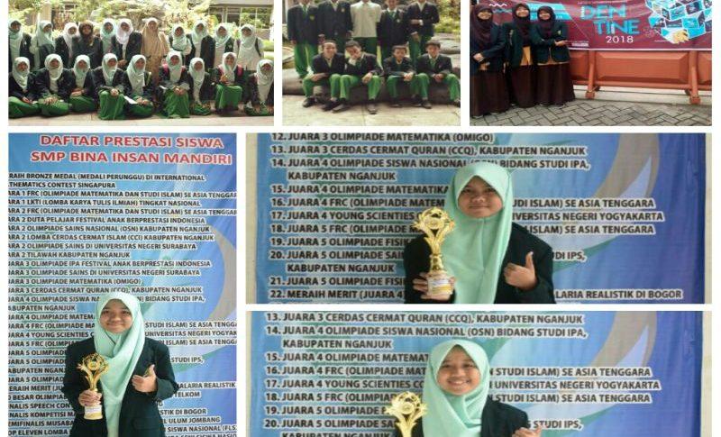 Santri Putra - Putri SMP & SMA Bina Insan Mandiri PP Al-Ihsan Baron Ikut Serta Dalam Olimpiade Tahun 2018
