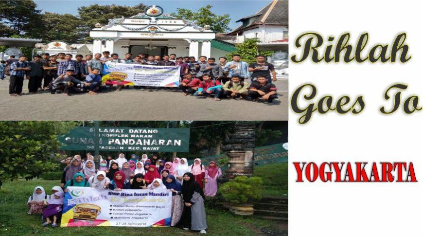 Rihlah SMP Bina Insan Mandiri ke Yogyakarta