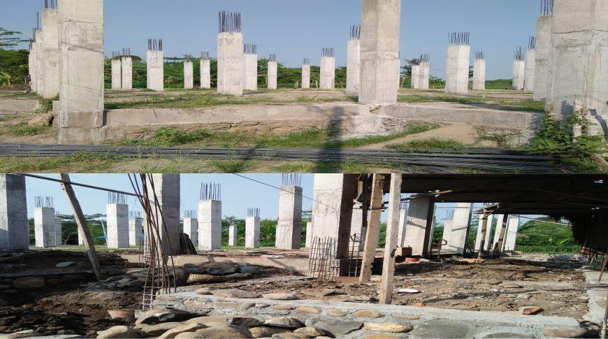 Progres Pembangunan Masjid Al Izzah
