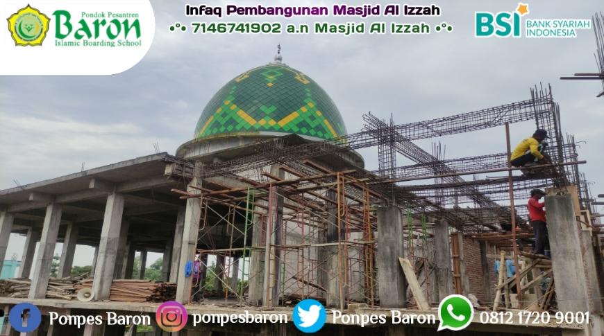 Update Daftar Donatur Masjid Al Izzah Per 27 April 2021