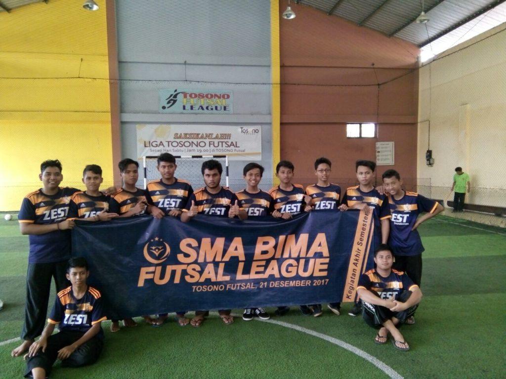 Team Futsal Villa Qur'an di Kegiatan Akhir Sekolah