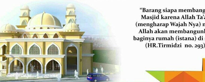 Kenapa harus membangun masjid al izzah
