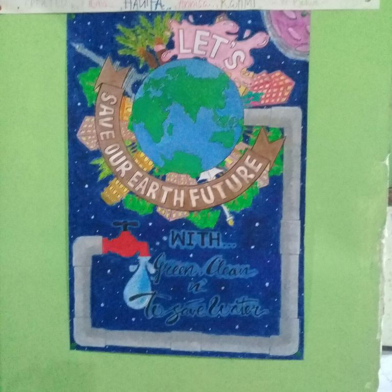 Lomba Poster Dalam Rangka Go Green SMP Bina Insan Mandiri
