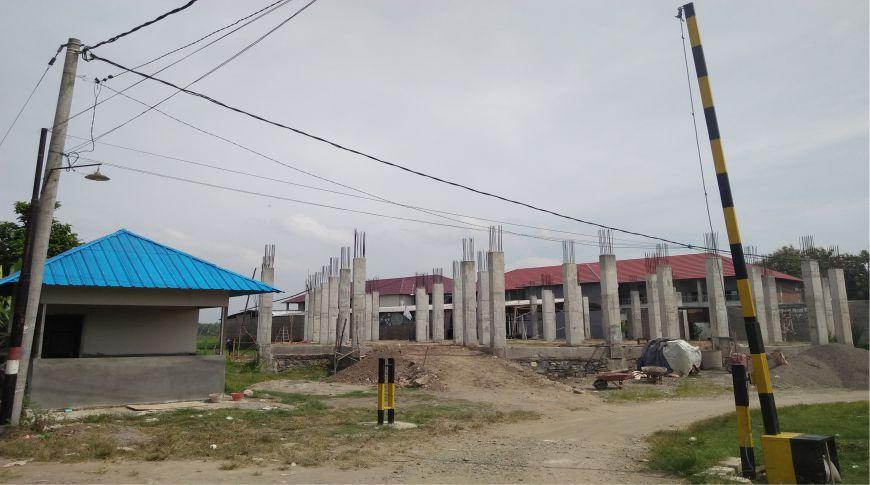perkembangan capaian donasi masjid al izzah baron