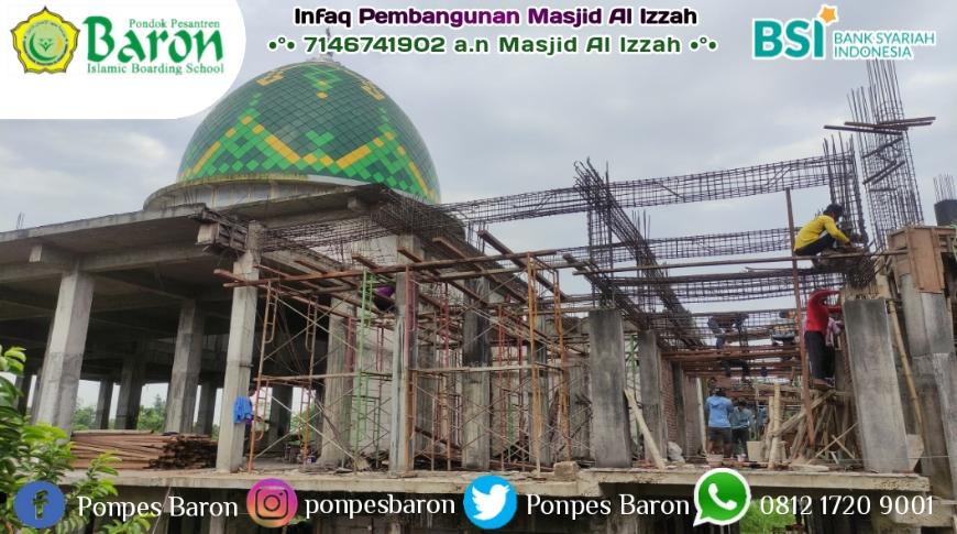 Tidak Lama Lagi Pengedekan Dasar Tandon Air Wudhu Dan 1/4 Lantai 2 Masjid Untuk Takmir, Insya Allah Akan Dilakukan